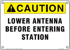 Everlast Indestructible Substation Sign