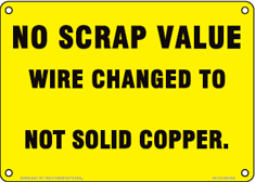 No Scrap Value