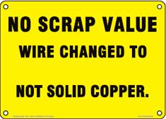 No Scrap Value