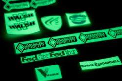 Advanced Visibility Glow Logos