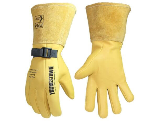 "Youngstown Gloves 13"" Leather Protector Lined w/ Kevlar®"