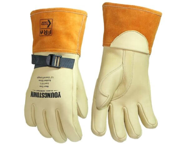 """Youngstown Glove Company 12"""" Leather Protector Lined w/ Kevlar®"""