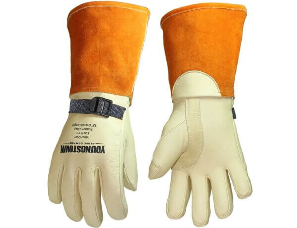 """Youngstown Gloves 15"""" Leather Protector"""