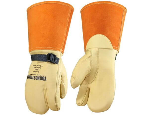 """Youngstown Glove Company 14"""" Primary Leather Protector Mitt"""